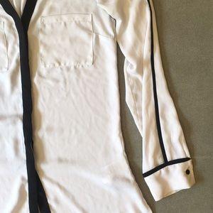 H&M sheer blouse